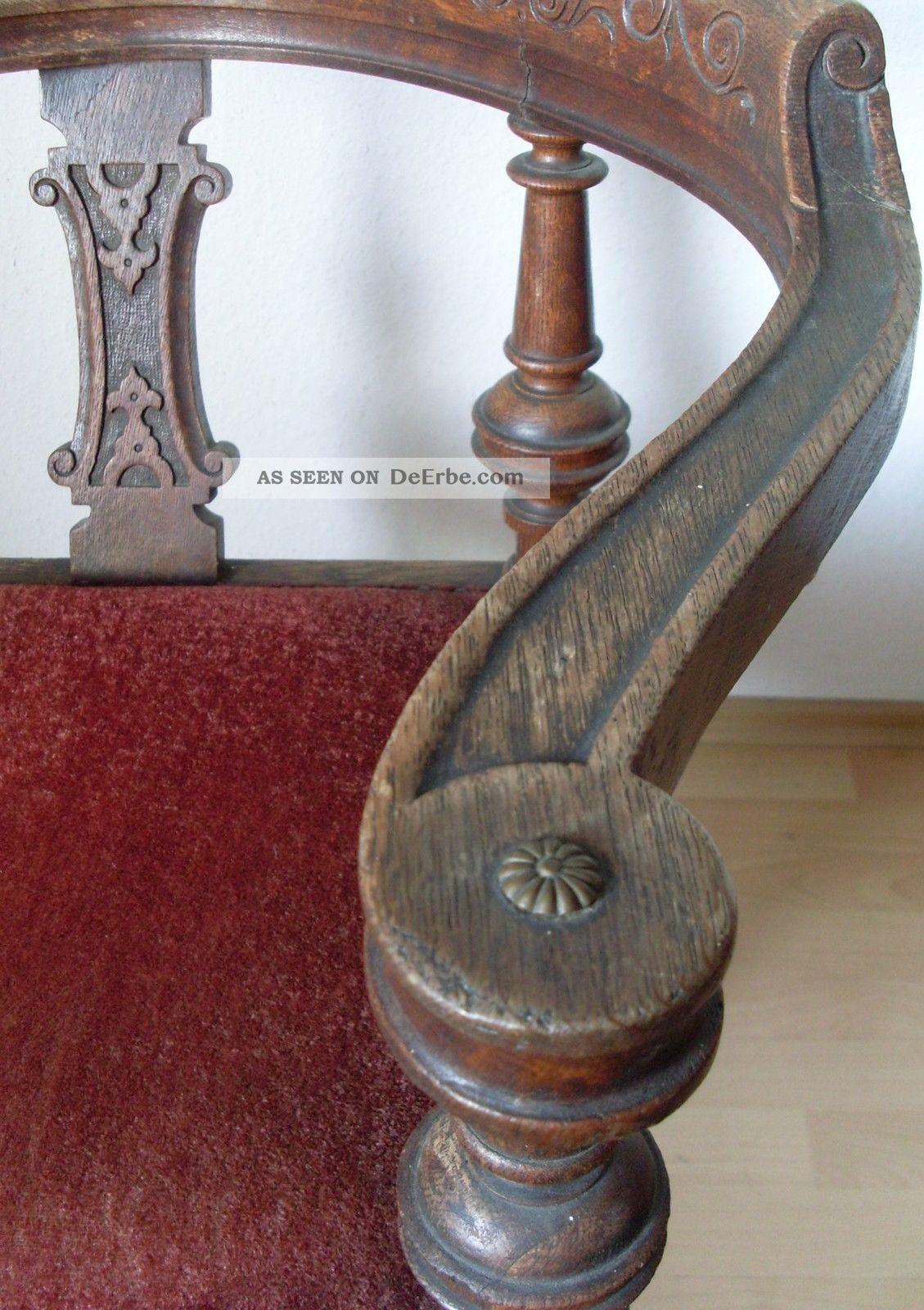 antiker schreibtischstuhl eckstuhl jugendstil armlehnstuhl art deco chair. Black Bedroom Furniture Sets. Home Design Ideas