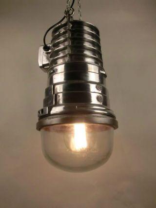 Fabrik Industrie Loft Bunker Ex Gruben Lampe Vintage Industrial Lamp Light Eow Bild