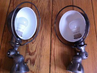 Jielde Wandlampe / Wandleuchte Industriedesign 1 Stück Bild