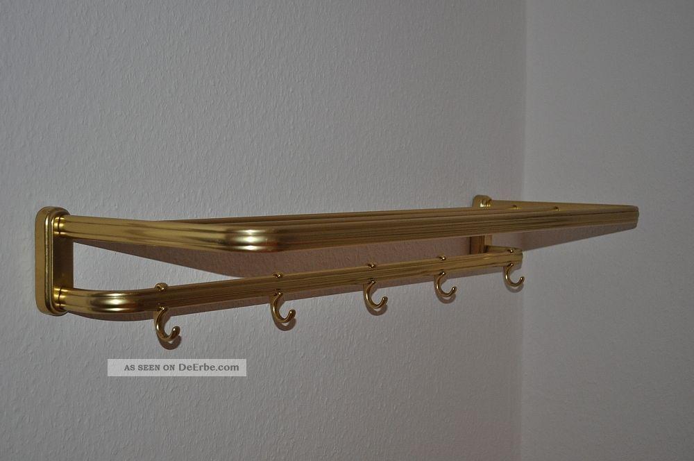 50er 60er hutablage alu garderobe rockabilly bauhaus art. Black Bedroom Furniture Sets. Home Design Ideas