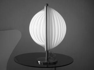 Moon Lamp Lamellenleuchte Tischleuchte Lampe Panton Colani Space Art Bild