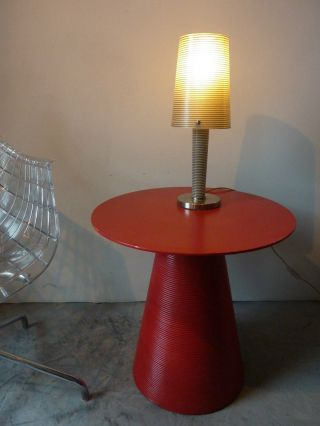 Cappellini - Beistelltisch - Rot - Kuramata ? - Design Bild