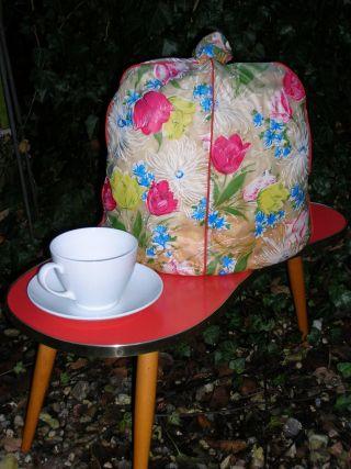 Vintage - Alter Kaffeewärmer - Kaffeemütze - 50iger Jahre - Shabby - Brocante Bild