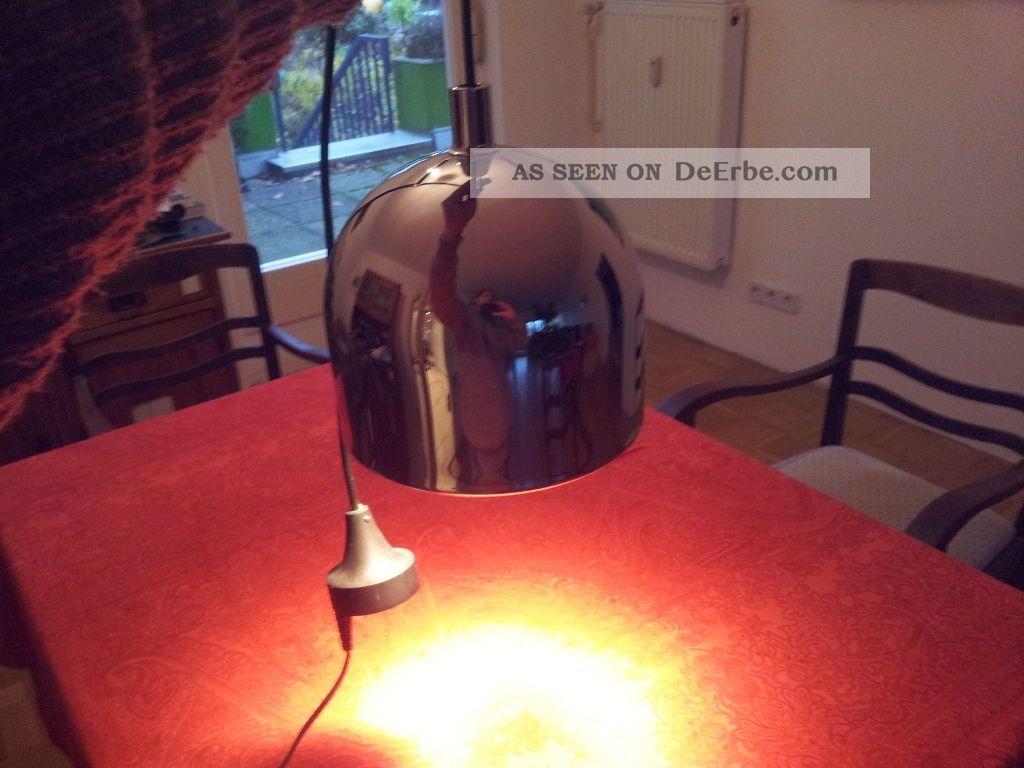 staff kopfspiegellampe h ngelampe 70er jahre sahnest ck typ 5515 27. Black Bedroom Furniture Sets. Home Design Ideas
