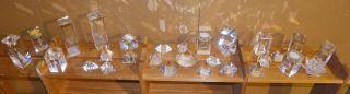 Kristallglas Mit 3d Lasergravur - Deko - Glas - Block - Pyramide (posten 3) Bild