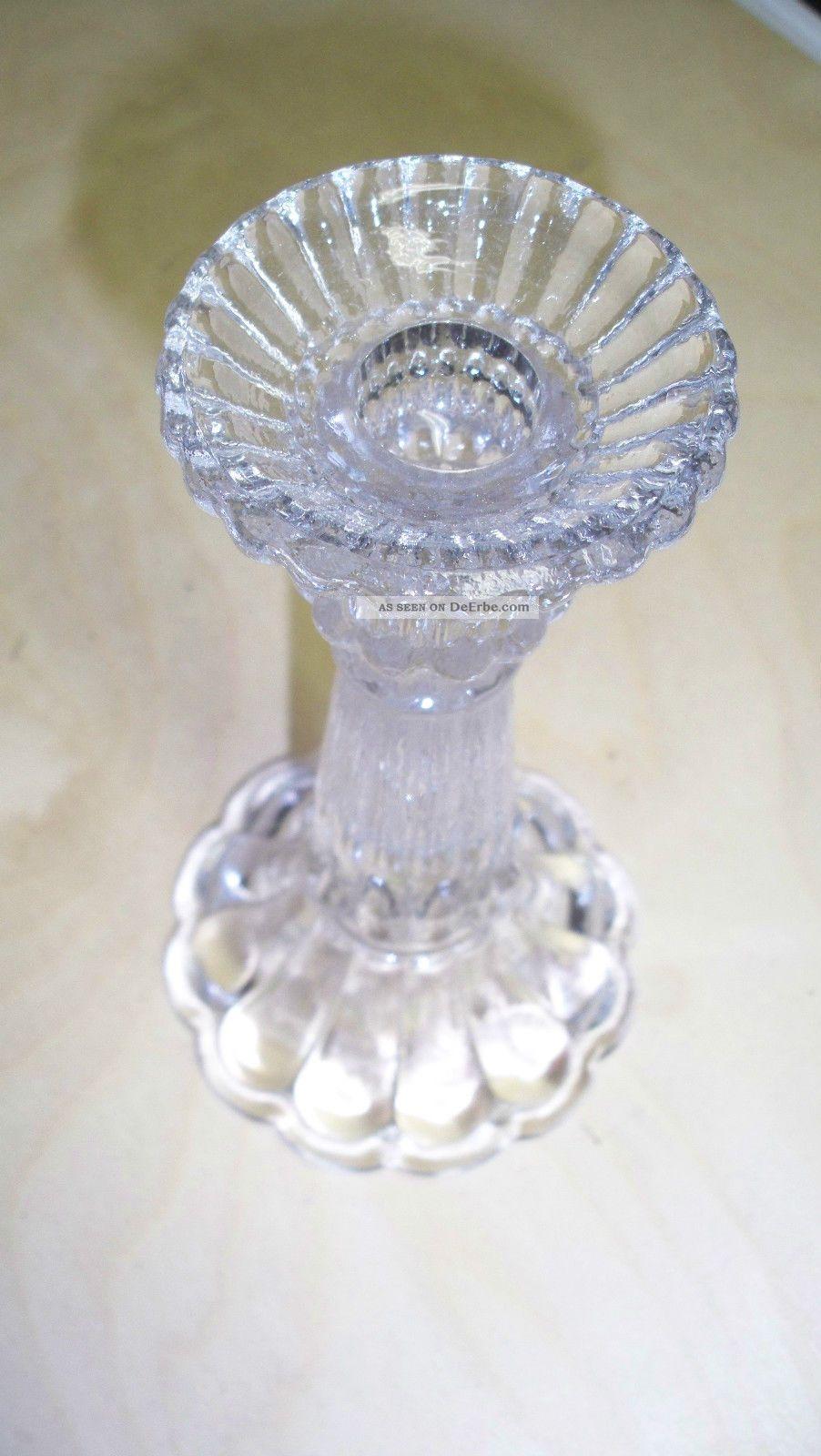 Bleikristall Kerzenständer Schöner Sauber Topzustand - Bitte Ansehen - Kristall Bild