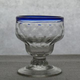 Kleiner Lauensteiner Fußbecher (blaurand) - Referenz Sammlung Friedleben Bild
