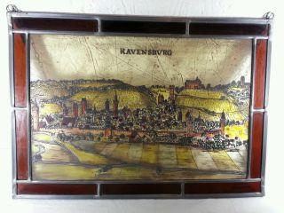 Altes Fensterbild - Bleiverglasung - Ravensburg Bild