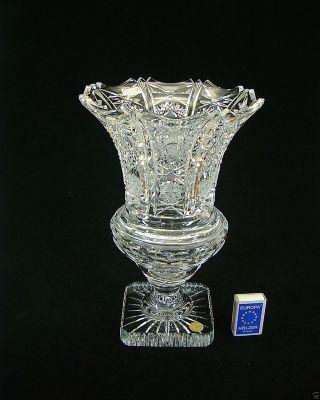Pokal - Fußvase 30cm Schwer Bleikristall (nachtmann) Handarbeit Bild