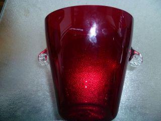 Wunderschönes Weinrotes Glas,  Trinkglas,  Dekorglas Bild