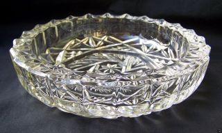 Aschenbecher,  Böhmisches Kristallglas,  Dm 20 Cm,  Ca.  Um 1980 Bild