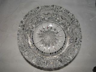 Aschenbecher Bleikristall Geschliffen Bild