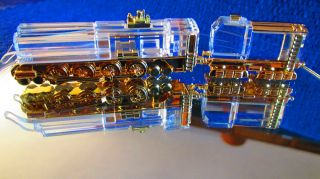Swarovski Zug / Dampf Lokomotive Mit Tender - Crystal Glas - Journeys - Rar Bild