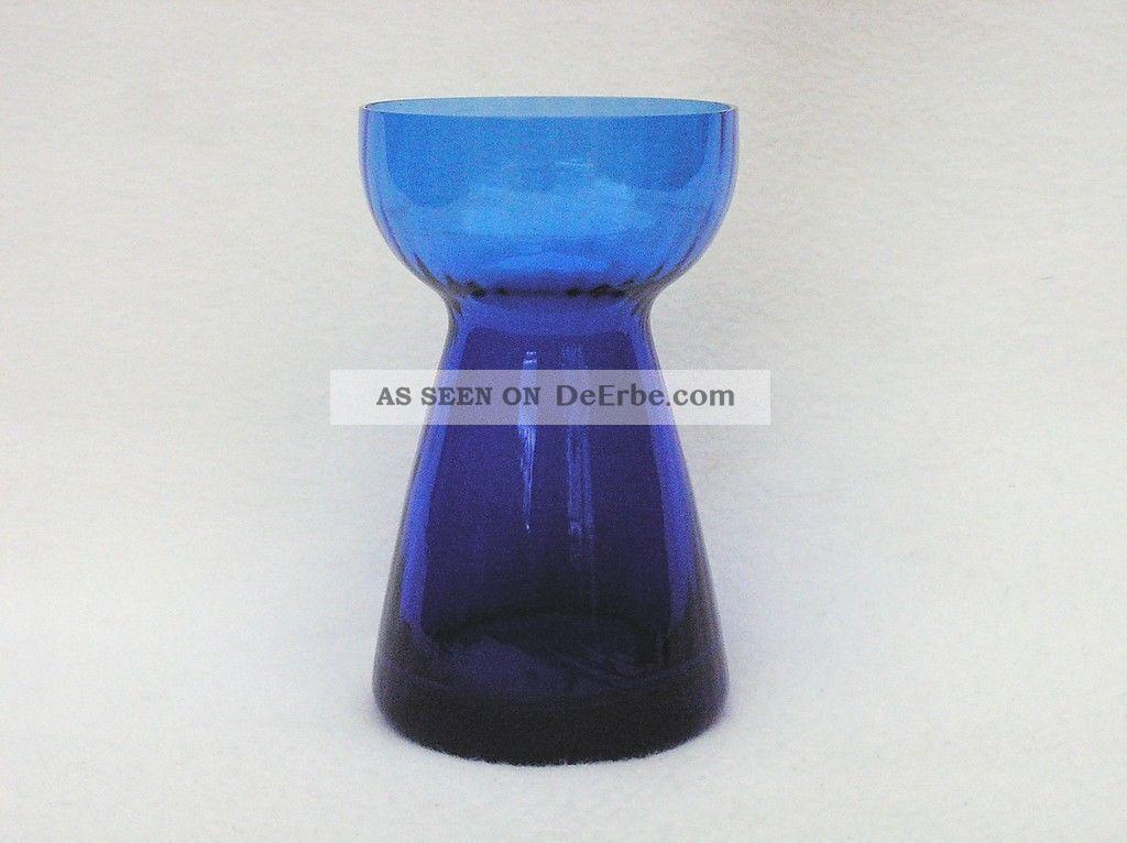 Vintage kobaltblaues Glas