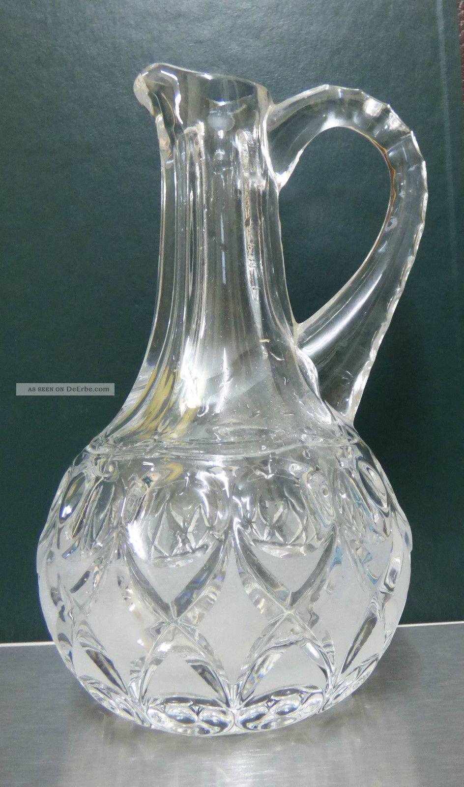 nachtmann kristallglas wundersch ne bleikristall karaffe krug vase. Black Bedroom Furniture Sets. Home Design Ideas