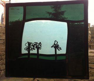 Fensterbild In Bleiverglasung,  Motiv