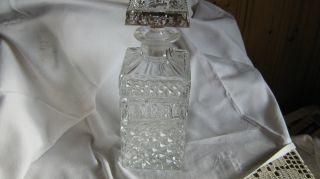 Wunderschöne Geschliffene Karaffe Kristall Bild