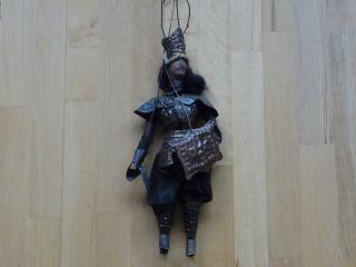 Alte Sizilianische Marionette - Ritter - Mit Metallrüstung - Speicherfund Bild