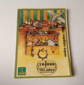 Vedes Ratgeber 1980 Katalog Spielzeugkatalog 80 Bild