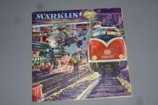 Alter Märklin Katalog D 1962/63 D Dm Noch Mit Gutschein Bild