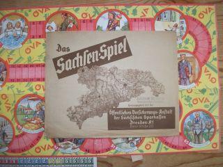 Das Sachsen - Spiel Hrsg V Sächsische Sparkassen Dresden - Deutsches Reich Bild