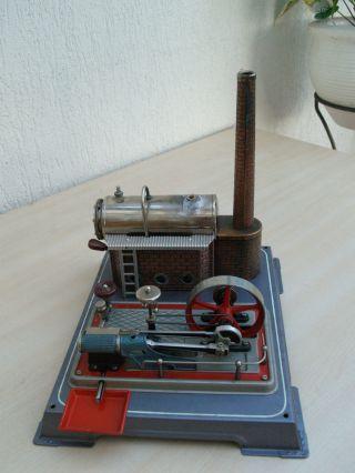 Alte Dampfmaschine Von Wilesco Bild