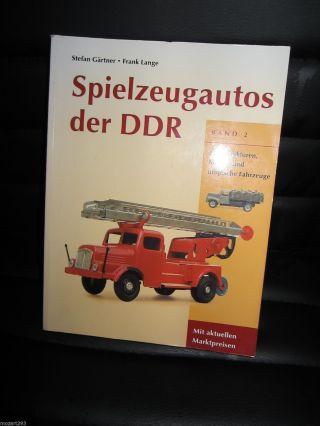 Buch Katalog Spielzeugautos Der Ddr Band 2 Bild