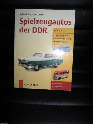 Buch Katalog Spielzeugautos Der Ddr Band 1 Bild