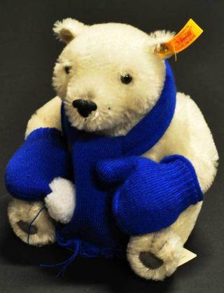 Steiff EisbÄr Bär Teddybär 671098 - Mohair - 20 Cm - 2012 - D46 - 07 Bild