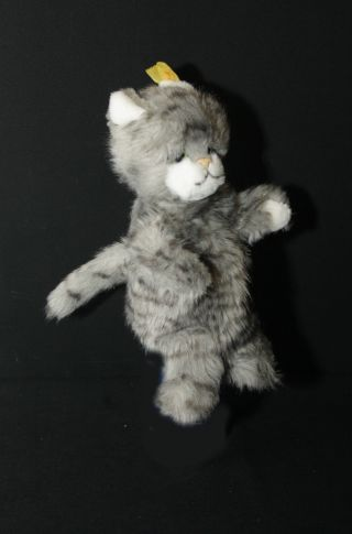 Steiff Handpuppe Katze Grau Bild