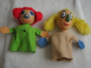 Steiff Handpuppen - Hand Puppets Maxifant 7002/25 & Minifant 7003/25 Bild