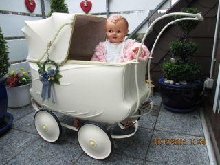 Rarität Alter Traumschöner Puppenwagen Von Brennabor Um 1930 Kinderwagen Bild