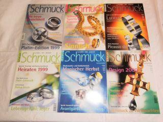 Schmuck Magazin - Classic Art Design - Jahrgang 1999 - 6 Ausgaben Bild