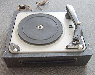 Alter Plattenspieler Koffer Dual Type P 1007 A Gebrüder Steidinger Bild