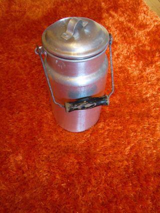 Kleine Aluminium Milchkanne 2 Liter - Vintage - Klasse Bild
