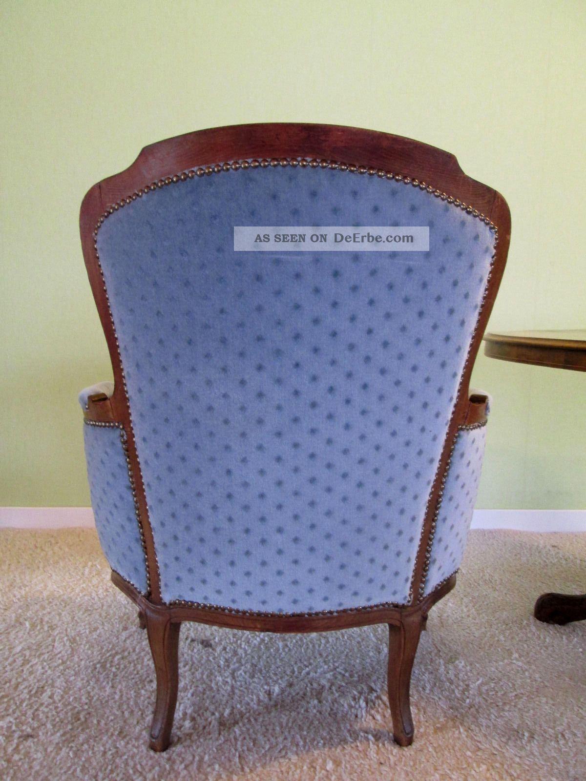 Chippendale sessel antik alt vintage barock stuhl shabby for Sessel antik