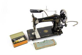 Seidel & Naumann Schwingschiffchen Nähmaschine Klasse 9 Haushaltsnähmaschine Bild
