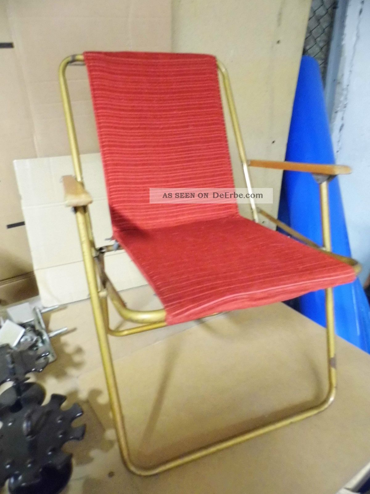 Klappstuhl camping kinder  60er Jahre Kinder Klappstuhl Camping Stuhl)) )