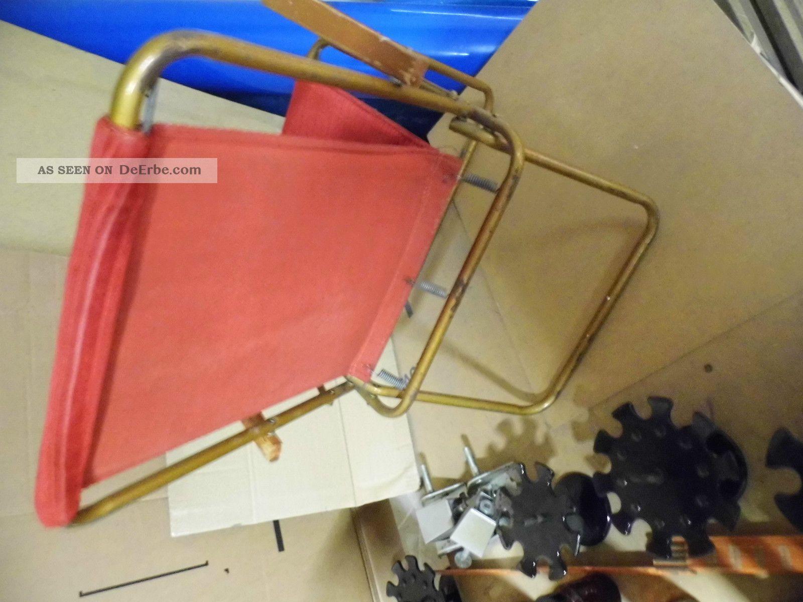 60er jahre kinder klappstuhl camping stuhl. Black Bedroom Furniture Sets. Home Design Ideas