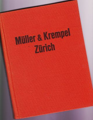 Müller & Krempel Zürich Katalog Für Apotheken,  Drogerie - Bedarf 1941 Aportheke Bild