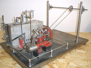 Schöne Stuart Dampfmaschine Komplett Anlage Mill Engine ? Bild
