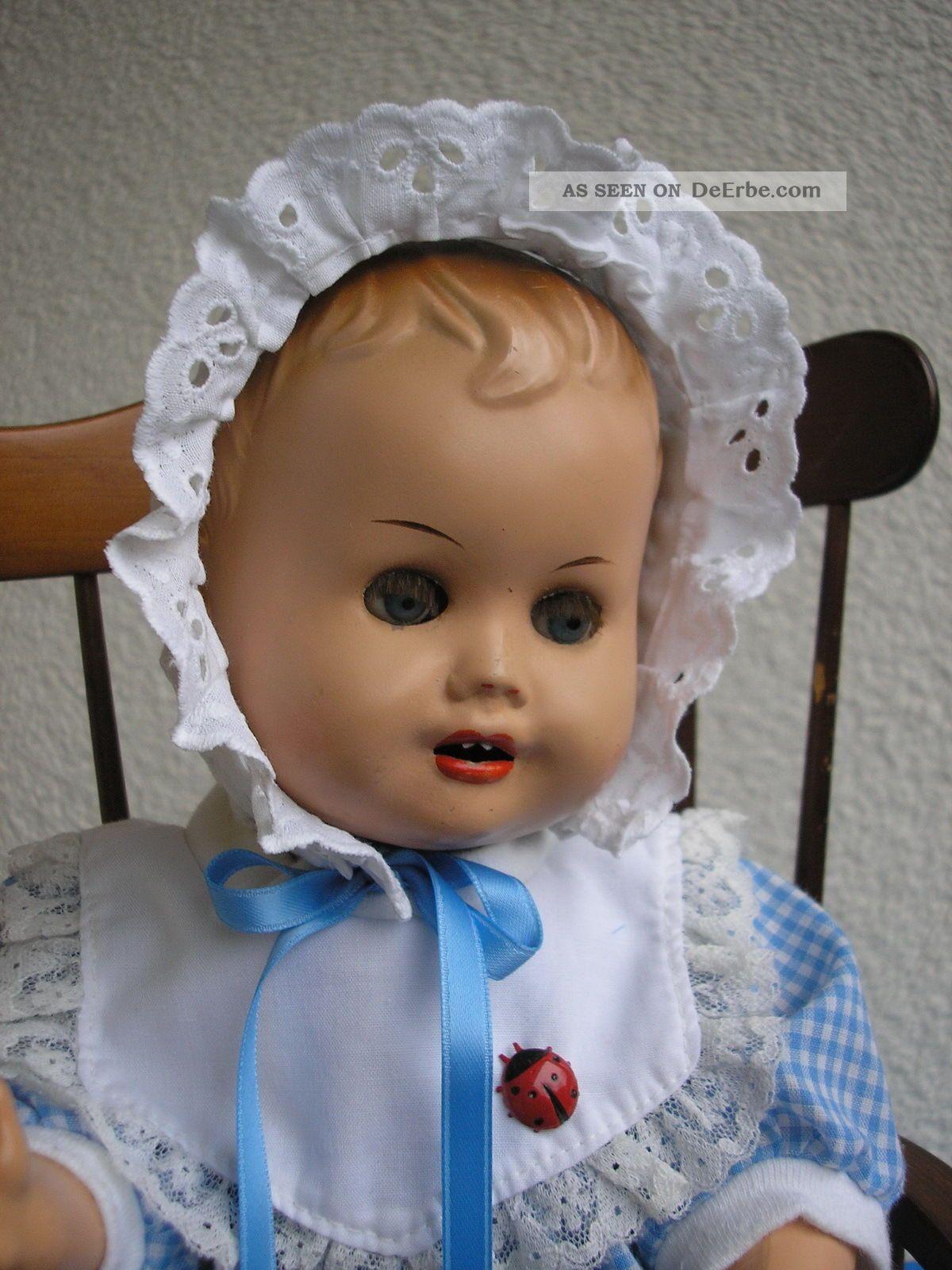 Arthur Schoenau - Sonneberg,  Entzückendes Kleines Baby Auf Einem Hochstuhl Puppen & Zubehör Bild