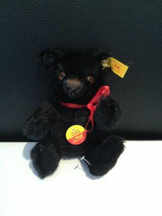 Steiff Teddy Bär 0209/15 Bär Schwarz 15 Cm Bild