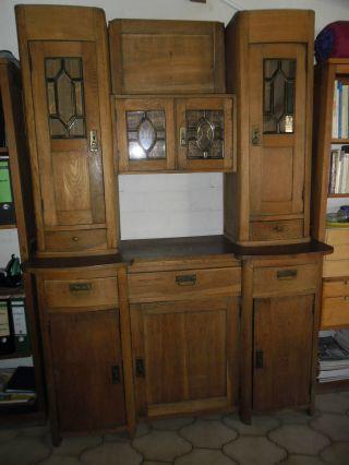 mobiliar interieur schr nke antike originale vor 1945 anrichten buffets antiquit ten. Black Bedroom Furniture Sets. Home Design Ideas