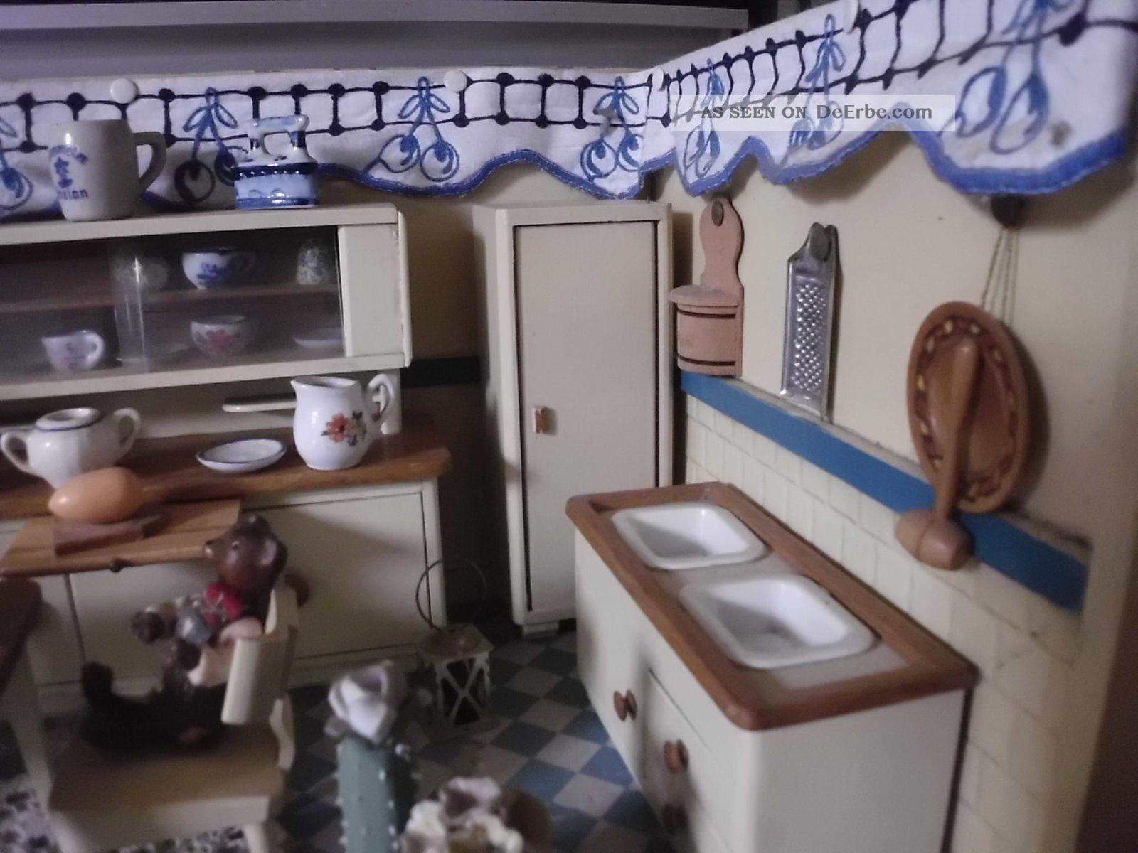 alte puppenstube k che aus den 50er jahren. Black Bedroom Furniture Sets. Home Design Ideas