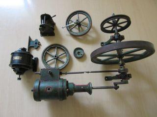 Dampfmaschinenteile Bild