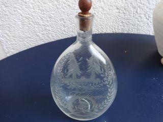 Biedermeier Schnupftabakglas Schnupftabakflasche 1840 Abriß Dachbodenfund Bild
