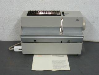 Braun - D 40 - Antikes Diaprojektor Mit Koffer Bild