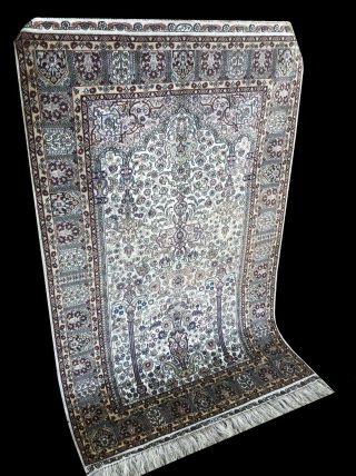 Wunderschöner Handgeknüpfter Orientteppich Hereke Reine Seide Bild