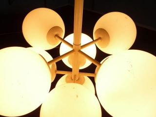 Schöne Xl Sputnik Lampe Ceiling Lamp Temde Schweiz 60/70er Originalzustand Bild